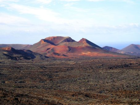 Volcano in Timanfaya National Park